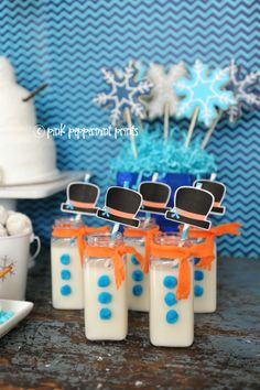 Winter/Snow Parties: A Disney's FROZEN Movie Inspired Snowman Party » Pink Peppermint Prints and Parties