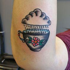 traditional teacup tattoo - Pesquisa Google