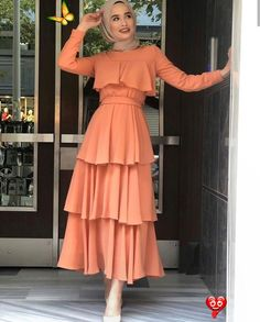 hippie outfits  <br> Modest Outfits Muslim, Modest Fashion Hijab, Modern Hijab Fashion, Muslim Fashion, Fashion Dresses, 90s Fashion, Hijab Fashion Inspiration, Ankara Fashion, Fashion Hacks