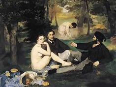 Manet, Le déjeuner sur l'herbe (Luncheon on the Grass), 1863 - YouTube