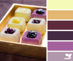 dessert hues #palette
