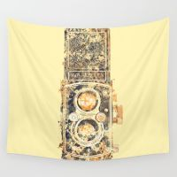 #Society6 #art #decor #Tapestries The Rolleiflex  #Society6 #art...