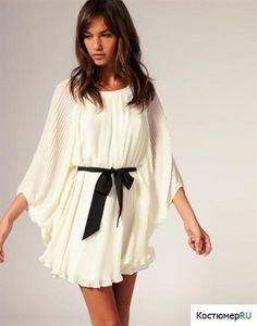 Купить плиссированное коктельное платье