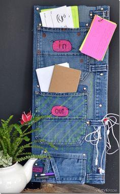 organizer aus jeans - Google-Suche