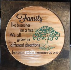 Family tree carved wooden sign Source by Carved Wood Signs, Diy Wood Signs, Painted Signs, Wood Burn Designs, Wood Design, Chalk Design, Wood Burning Crafts, Wood Burning Art, Diy Home Crafts