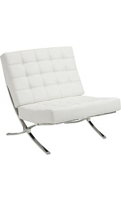 Coaster Home Furnishings Accent Chair, White/White Best Price