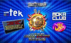 Tek Reunion, concerti Moka Club e Joe Dibrutto Imola
