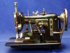 Necchi BU set up for button hole making.