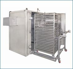 Tray Dryer-48 Tray (OVEN) with Double trolley