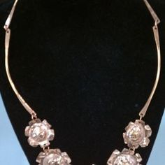 Copper Flower Necklace by Kelly Machbitz