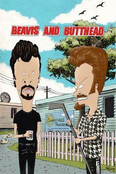 Beavis and Butthead Trailer Park Boys mashup! Brand fucking new
