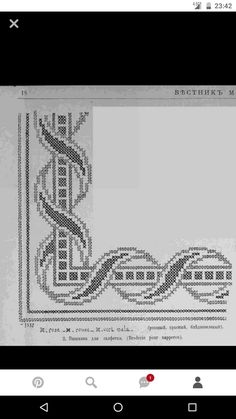 This Pin was discovered by Yet Cross Stitch Embroidery, Embroidery Patterns, Hand Embroidery, Decor Crafts, Diy And Crafts, Palestinian Embroidery, Cross Stitch Flowers, Cross Stitch Designs, Needlepoint