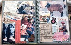 I love smashbooking! It's a great combination of journaling and scrapbooking!
