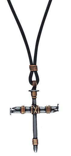how to make a simple leather cord necklace with pendant - Google Search