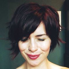 27-Short Cute Hairstyle