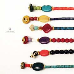FRIDA chokers, all exclusive one of-a-kind pieces. ©Vicky Metzger Barcelona.
