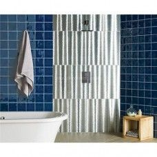 Original Style Aurora Borealis Dark Silver clear glass tile GW-DSR6030 600x300mm Glassworks