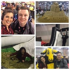 Atlantic City Beer Fest complete with silent disco slide that landed you in hops drunken yoga Dashboard Confessional and so many different beers! What a fun evening! #acbeerfest by christina_carlucci