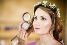 Westida para Casar: Inspiração penteados: flores
