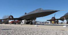 SR-71A #973 at Blackbird Airpark