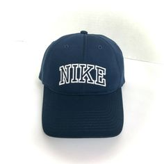 Navy Blue, Blue And White, Cool Hats, Baseball Hats, Dads, Nike, Fitness, Ebay, Dope Hats