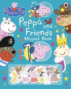 Peppa and Friends Magnet Book, anglická kniha Peppa Pig Teddy, Ben And Holly, Friend Book, Little Library, Ladybird Books, Mother's Day Diy, Old Love, Mothers Day Crafts, Tooth Fairy