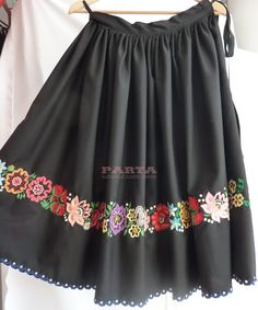 Flower Embroidery Designs, Hand Embroidery, Party Dress, Fashion Dresses, Costumes, Poland, Classic, Womens Fashion, How To Wear