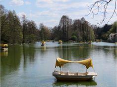 Luisenpark in Mannheim, Germany