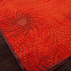 Fiona Rug in Red