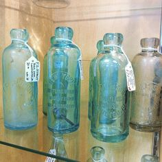 #antique #soda #bottle #bottles #blobtop #hutch #hutchinson #pop #crownantiquemall