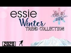 essie Winter Trend Collection 2020 - YouTube Winter Trends, Essie, Channel, Youtube, Collection, Instagram, Youtubers, Youtube Movies