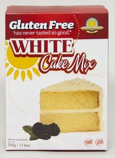 Just tried this new cake mix, Justin says it's the best EVER!  Love it, bakes up in only 20 minutes!