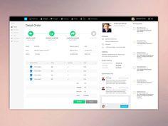Dashboard Order Detail 2 - Collaboration Web Apps v2 by Dwinawan Hariwijaya (Yogyakarta, Indonesia)