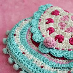 Hearts purse--PATTERN FOR SALE $5.30