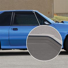 ConvertibleHatchback 1990-1993 Ford Mustang Radiator Support