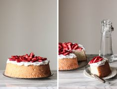Pastry Affair | Berry Topped Angel Food Cake
