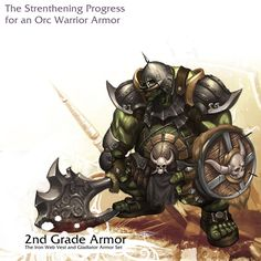 Orc_warrior___2nd_Grade_by_reaper78