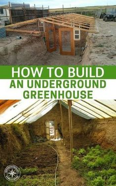 How To Build an Underground Greenhouse — Growing your own food isn& diffi. - How To Build an Underground Greenhouse — Growing your own food isn& diffi. How To Build an Underground Greenhouse — Growing your own food isn& Greenhouse Growing, Greenhouse Gardening, Hydroponic Gardening, Hydroponics, Organic Gardening, Greenhouse Ideas, Aquaponics Diy, Greenhouse Wedding, Winter Greenhouse