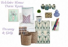 Belclaire House: Moodboard Monday: Dorm Room