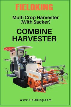 Sacker Type Due to the absence of grain tank it is an ultra lightweight harvester which makes it suitable for harvesting operations in Extreme wetlands , It is easy to carry filled sacked bags out of wet fields without a hassle. #CombineHarvester #harvesterprice #harvestermachine #combineharvestermachine #harvestermachineprice #combineharvesterprice #harvestermachinepriceinIndia #combineharvesterpriceinIndia #minicombineharvesterprice Harvest Corn, Agriculture Machine, Combine Harvester, The Absence, Fields, Type, Easy
