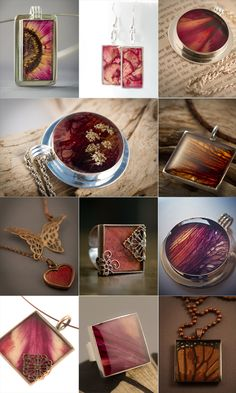 Resin Jewelry - Project gallery for the basic pendant.