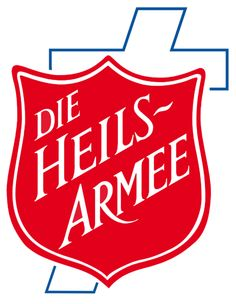 Logo der Heilsarmee in Deutschland #redshield #salvationarmy