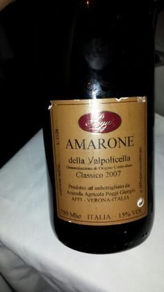 Amarone. Perfect with quality Indian cuisine.