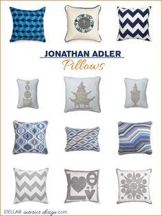 Interior Design Boards Jonathan Adler Accent Pillows Throw Online