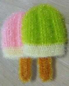 그리고 사용바늘은 손땀이 쫀쫀한 저는 5호 사용했어요~♡ 손땀 느슨하신분들은 4호 사용하심될듯요~^^~♡... Shower Towel, Watermelon, Bubbles, Crochet, Bricolage, Crocheting, Chrochet, Knitting, Hooks