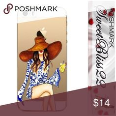 🌟2 for 14 IPhone6/6S Phone Case🌟 Add a bit of glam to your IPhone! Slim, soft plastic case with just the right touch of glam!  This case is called Summer Hat and Lemonade. 2 for 14. Don't miss out😊 Accessories Phone Cases