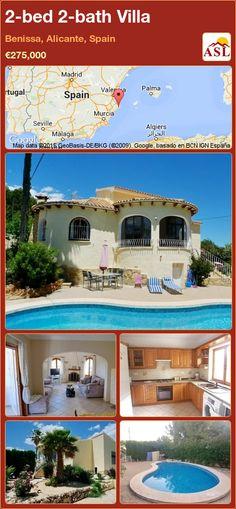 2-bed 2-bath Villa in Benissa, Alicante, Spain ►€275,000 #PropertyForSaleInSpain