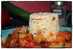 brotbackliebeundmehr - Foodblog - Ratatouille mit Basmatireis*****