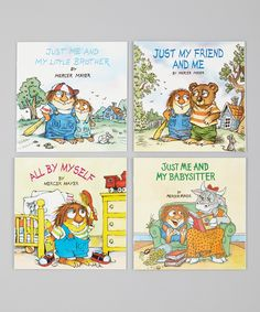 Look what I found on #zulily! All By Myself Paperback Set by Random House #zulilyfinds