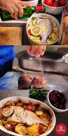Besugo al horno. 3 minutos con Santiago Giorgini. http://www.utilisima.com/recetas/10445-besugo-al-horno.html